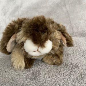 "Walmart 9"" Brown Bunny Rabbit Plush Stuffed Animal"